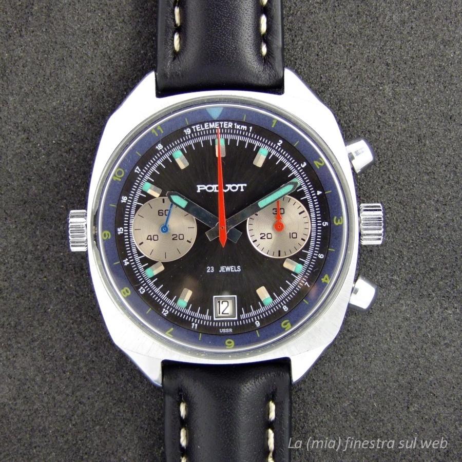 acquisto economico ae50a ec099 Cronografi Poljot - La (mia) finestra sul web